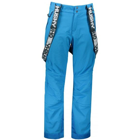 Pánské zimní softshellové kalhoty HUSKY GALTI M MODRÁ