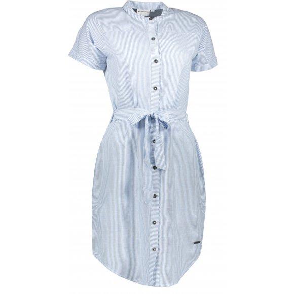 Dámské šaty ALPINE PRO LIBA LSKR227 MODRÁ