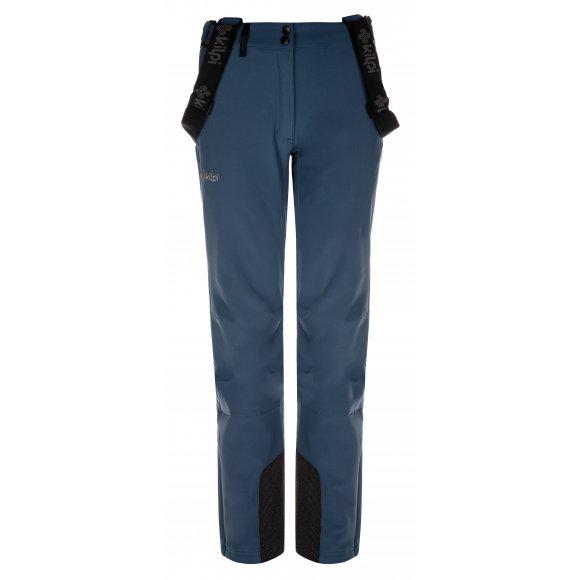 Dámské zimní softshellové kalhoty KILPI RHEA-W LL0093KI MODRÁ
