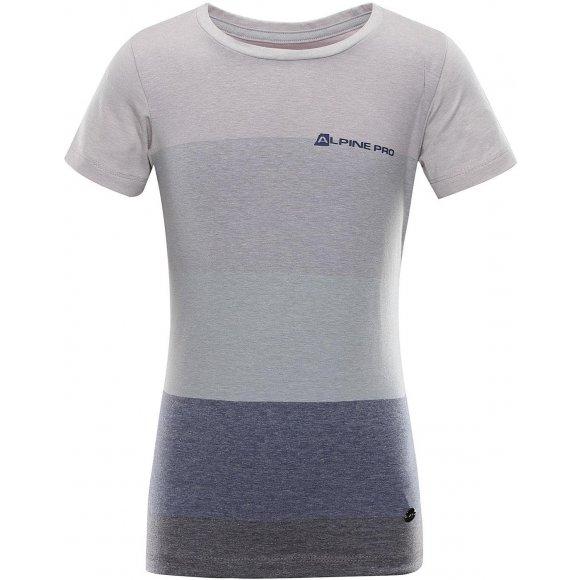 Dětské triko ALPINE PRO GULIO KTSR241 FIALOVÁ