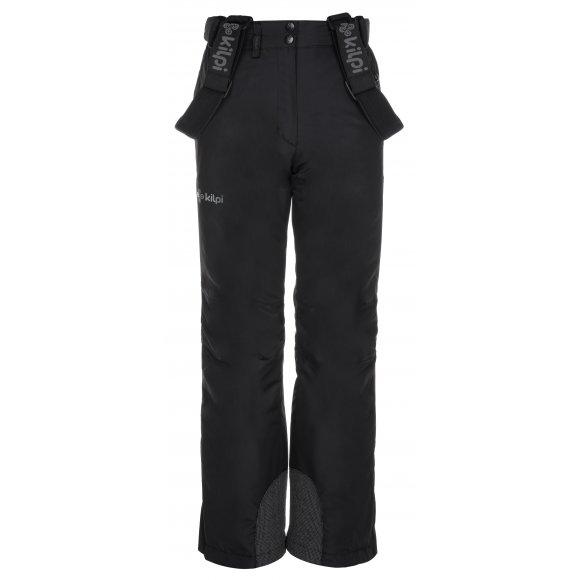 Dívčí zimní kalhoty KILPI ELARE-JG LJ0007KI ČERNÁ