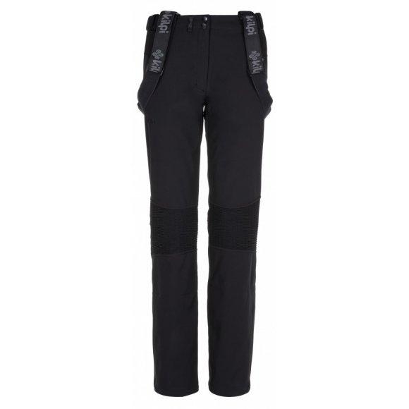 Dámské zimní softshellové kalhoty KILPI DIONE-W LL0029KI ČERNÁ