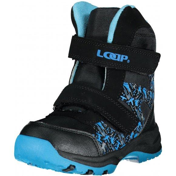 Dětské zimní boty LOAP CHOSEE KBK1644 MODRÁ