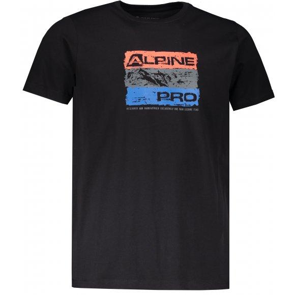 Pánské triko ALPINE PRO UNEG 8 MTSR458 ČERNÁ
