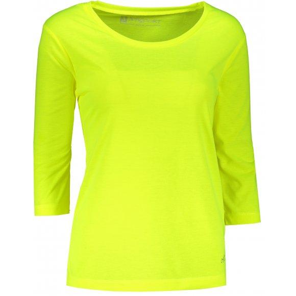 Dámské triko s 3/4 rukávem ALTISPORT MARAXA LTSR670 ŽLUTÁ