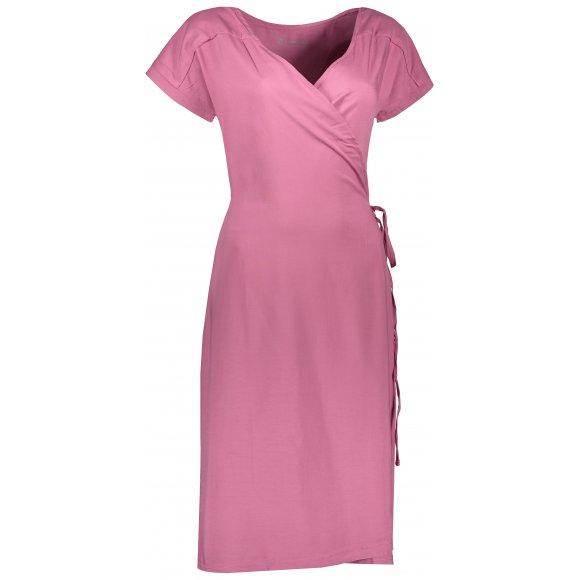 Dámské šaty ALPINE PRO SOLEIA LSKR225 RŮŽOVÁ