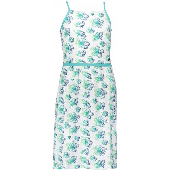 Dívčí šaty ALPINE PRO ZELDO KSKR068 BÍLÁ