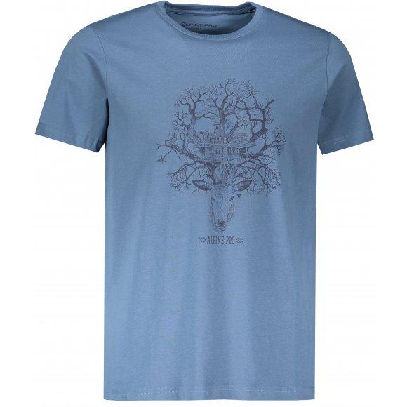 Pánské triko ALPINE PRO AMIT 7 MTSR475 MODRÁ