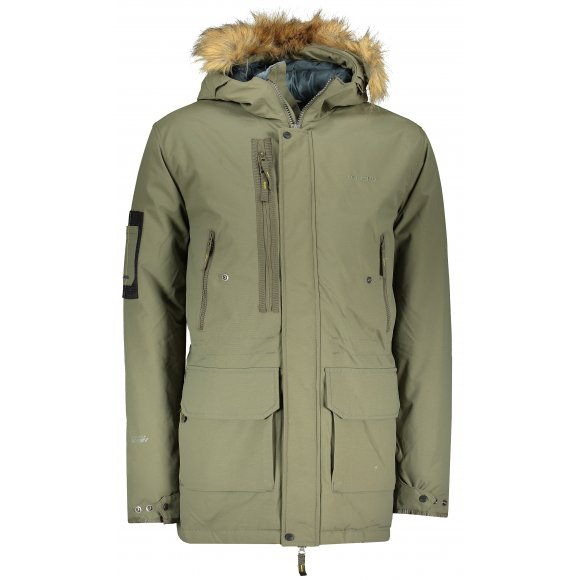 Pánský zimní kabát HUSKY NELIDAS M TMAVÁ KHAKI
