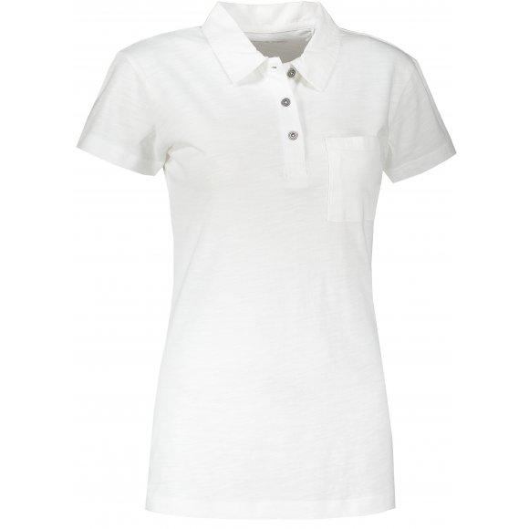 Dámské triko s límečkem ALPINE PRO ERINA LTSR655 BÍLÁ