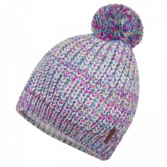 Dámská zimní čepice HUSKY CAP 16 BÍLOMODRÁ
