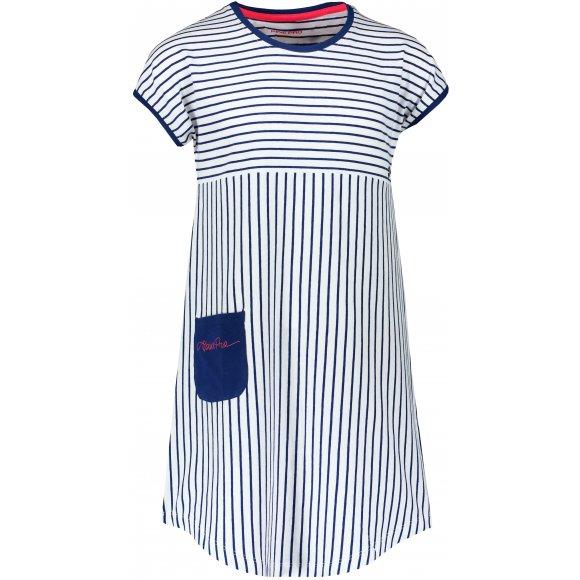 Dívčí šaty ALPINE PRO TERESO KSKR067 MODRÁ
