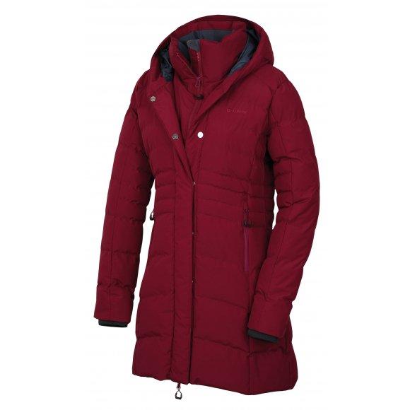 Dámský zimní kabát HUSKY NORMY L VÍNOVÁ