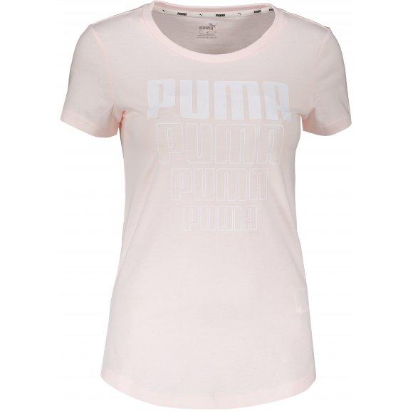 Dámské triko PUMA REBEL GRAPHIC TEE 58130717 ROSEWATER
