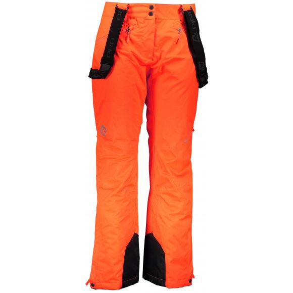 Dámské lyžařské kalhoty ALPINE PRO MINNIE 4 LPAM280 ORANŽOVÁ