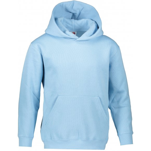 Dětská mikina FRUIT OF THE LOOM PREMIUM HOODED SWEAT SKY BLUE