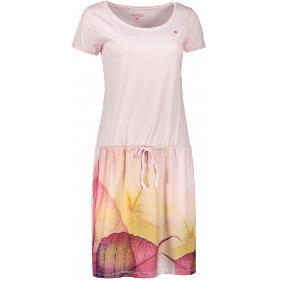 Dámské šaty LOAP ALYSA CLW2064 SVĚTLE RŮŽOVÁ