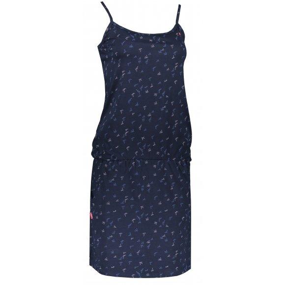 Dámské šaty LOAP BARILA CLW2036 TMAVĚ MODRÁ