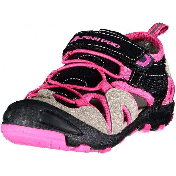 Dětské sandále ALPINE PRO FLAVIO KBTR223 RŮŽOVÁ