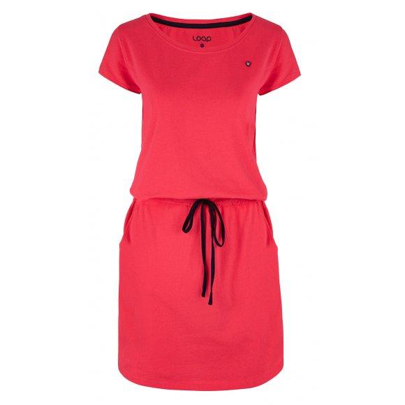 Dámské šaty LOAP BANNY CLW2035 RŮŽOVÁ
