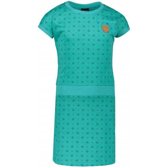 Dívčí šaty SAM 73 GZ 525 ZELENÁ NEON