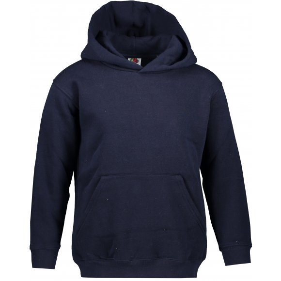 Dětská mikina FRUIT OF THE LOOM PREMIUM HOODED SWEAT DEEP NAVY