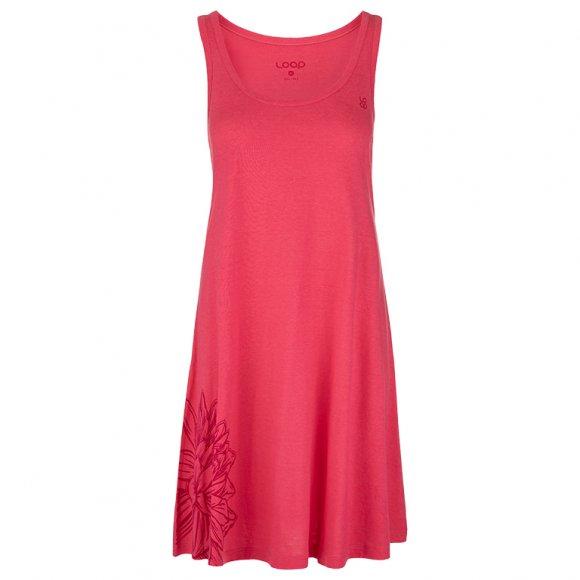 Dámské šaty LOAP ASTRIS CLW2074 RŮŽOVÁ