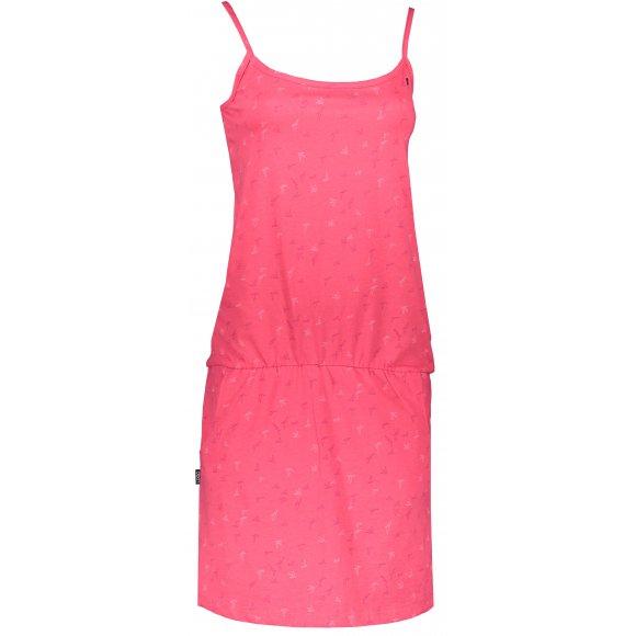 Dámské šaty LOAP BARILA CLW2036 RŮŽOVÁ