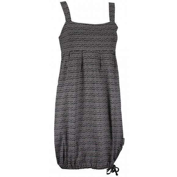 Dámské šaty ALPINE PRO GALIENA LSKR203 ŠEDÁ