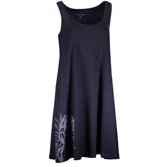 Dámské šaty LOAP ASTRIS CLW2074 TMAVĚ MODRÁ