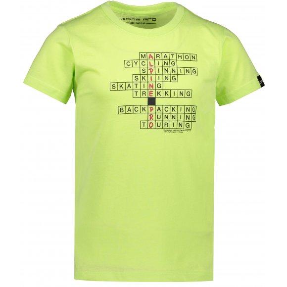 Chlapecké triko ALPINE PRO RIALDO KTSR280 ZELENÁ