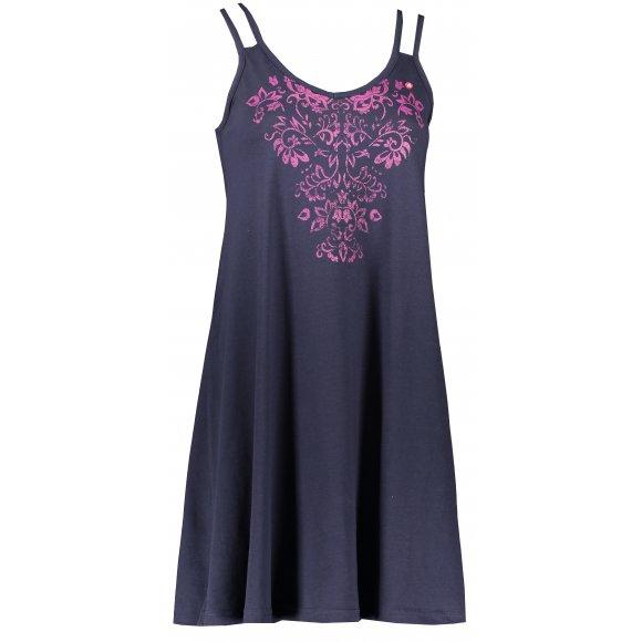 Dámské šaty LOAP BARUNKA CLW2038 TMAVĚ MODRÁ