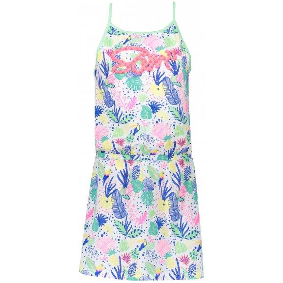 Dívčí šaty SAM 73 KSKR079 SVĚTLE ZELENÁ