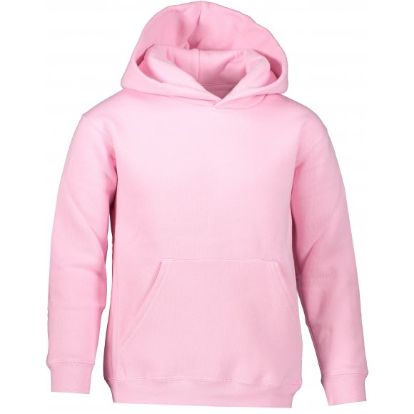 Dětská mikina FRUIT OF THE LOOM PREMIUM HOODED SWEAT LIGHT PINK