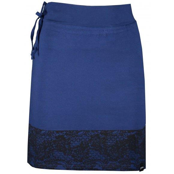 Dámská sukně ALPINE PRO VAILA LSKR273 MODRÁ