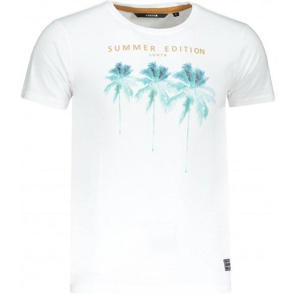 Pánské triko LUHTA AHJOLA OPTIC WHITE