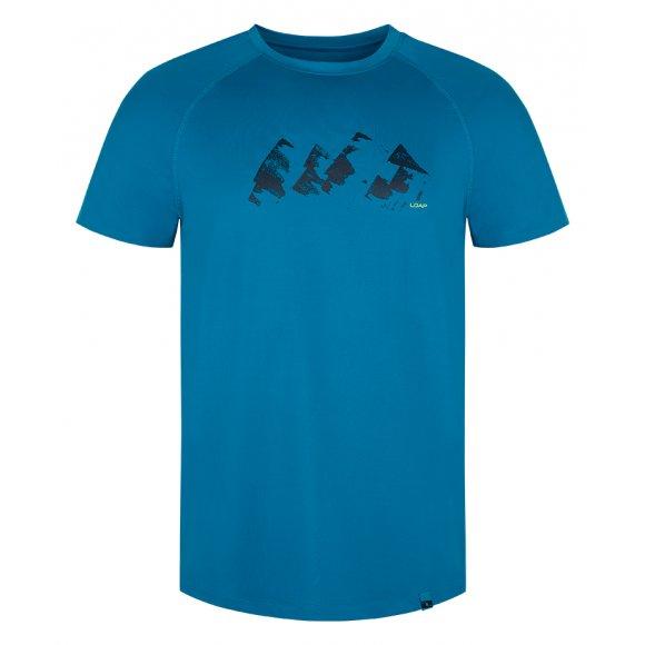 Pánské funkční triko LOAP MENETO TLM2006 SVĚTLE MODRÁ