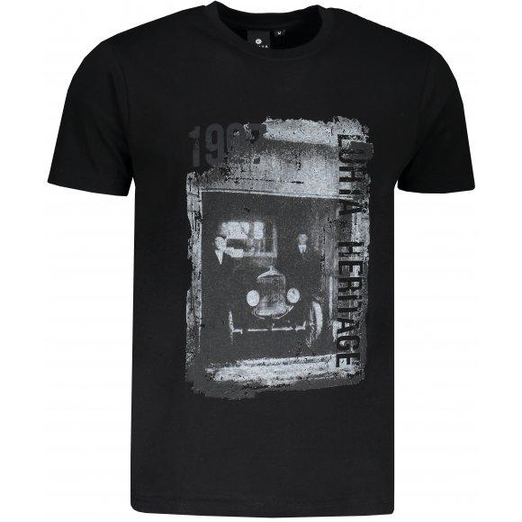 Pánské triko LUHTA KUOPIO ČERNÁ