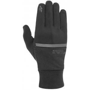 Rukavice 4F D4L20-REU101 DEEP BLACK