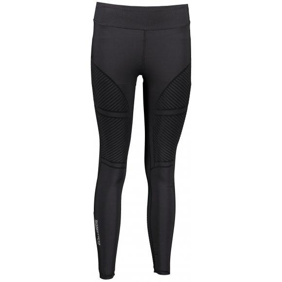 Dámské kalhoty 4F D4L20-SPDF105 DEEP BLACK