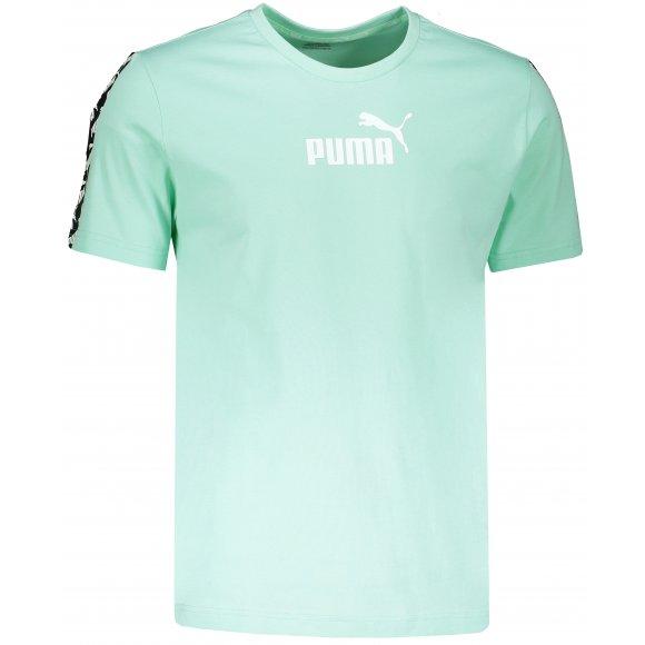 Pánské triko PUMA AMPLIFIED TEE 58138432 MIST GREEN