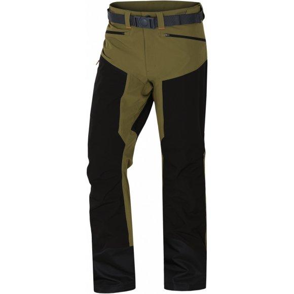Pánské kalhoty HUSKY KRONY M TMAVĚ OLIVOVÁ
