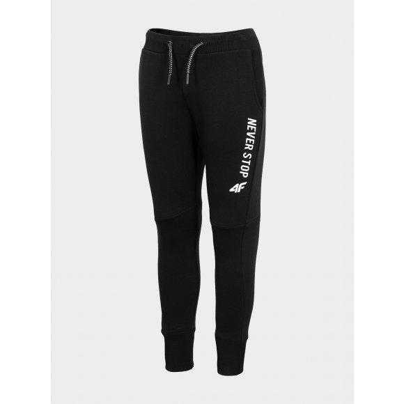 Chlapecké kalhoty 4F J4L20-JSPMD206 DEEP BLACK