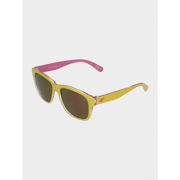 Dívčí sluneční brýle 4F J4L20-JOKD200 LIGHT LEMON