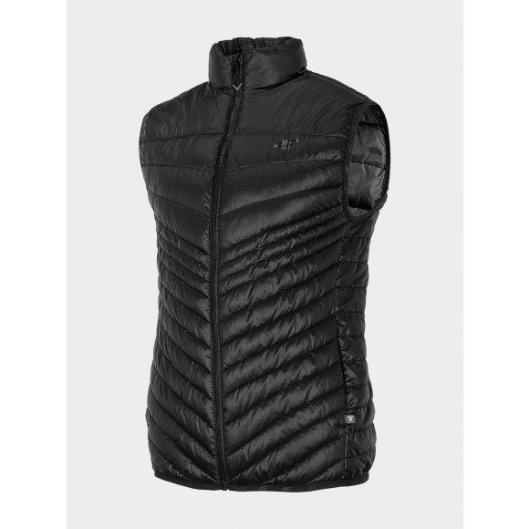 Pánská vesta 4F NOSD4-KUMP201 DEEP BLACK
