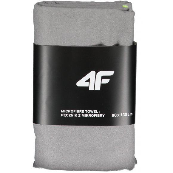 Sportovní ručník 4F NOSD4-RECU200B COLD LIGHT GREY