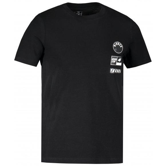 Chlapecké triko 4F J4L20-JTSM211A DEEP BLACK