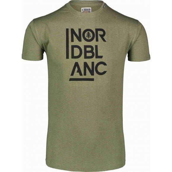 Pánské triko NORDBLANC OBEDIENT NBSMT7258 ZELENÝ SAD