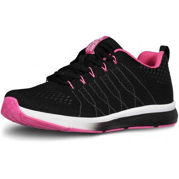 Dámské sportovní boty NORDBLANC VELVETY NBLC6863 ČERNORŮŽOVÁ