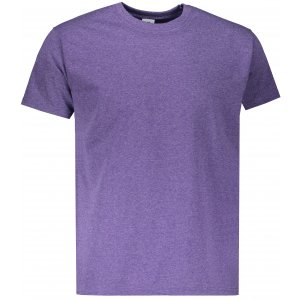 Pánské tričko FRUIT OF THE LOOM VALUEWEIGHT T HEATHER PURPLE